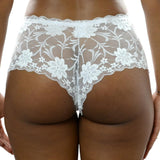 Lace Convertible Bra n Boyshort Set