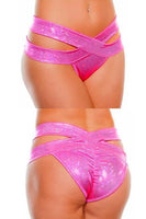 Hologram Criss Cross Scrunch Bottom