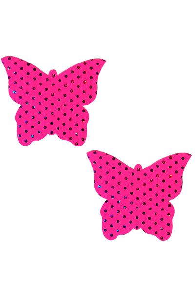 Pink Butterfly Pasties