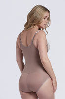 Sculpting Zipper Front Bodysuit