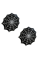 Blacklight Sequin Spiders Web Nipztix Pasties