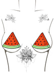 Watermelon Juicy Glitter Pasties
