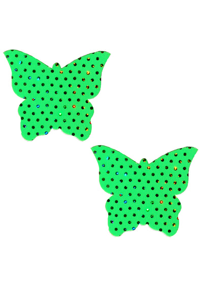 Green Butterfly Pasties