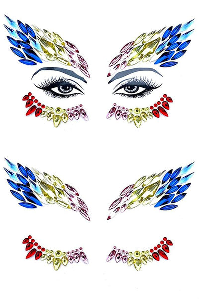 Phoenix Crystal Face Jewels
