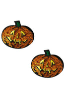 Pumpkin Sequin Nipztix Pasties