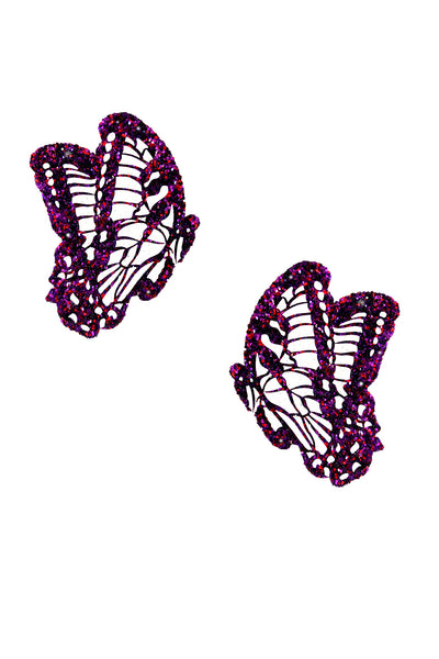 Sparkle Pink Glitter Beautiful Butterfly Kisses Pasties