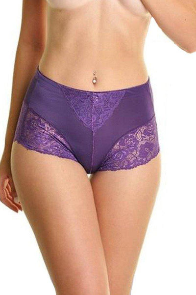 Womens Lace Light Control Brief