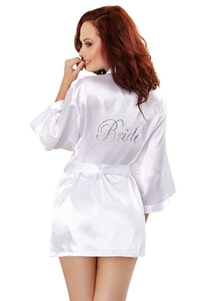 Bride Robe & Babydoll Set