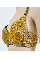 Hand Beaded Bustier with Sequins