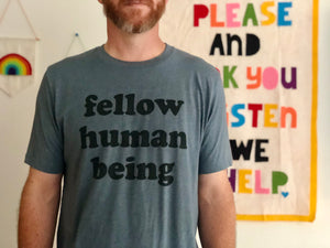 A Compassionate Tee for Fellow Human Beings