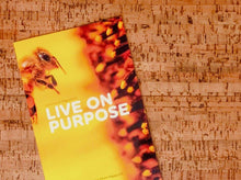 "Load image into Gallery viewer, A Bedtime Story for Adults all About Purpose: ""Live on Purpose"""