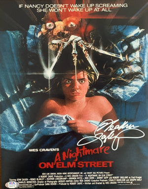 Heather Langenkamp autographed signed 11x14 photo A Nightmare on Elm Street PSA - JAG Sports Marketing