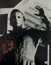 Nick Castle autographed signed 11x14 photo Halloween PSA COA Micheal Myers - JAG Sports Marketing