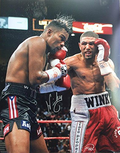 Boxing Champion Winky Wright signed 16x20 photo - JAG Sports Marketing