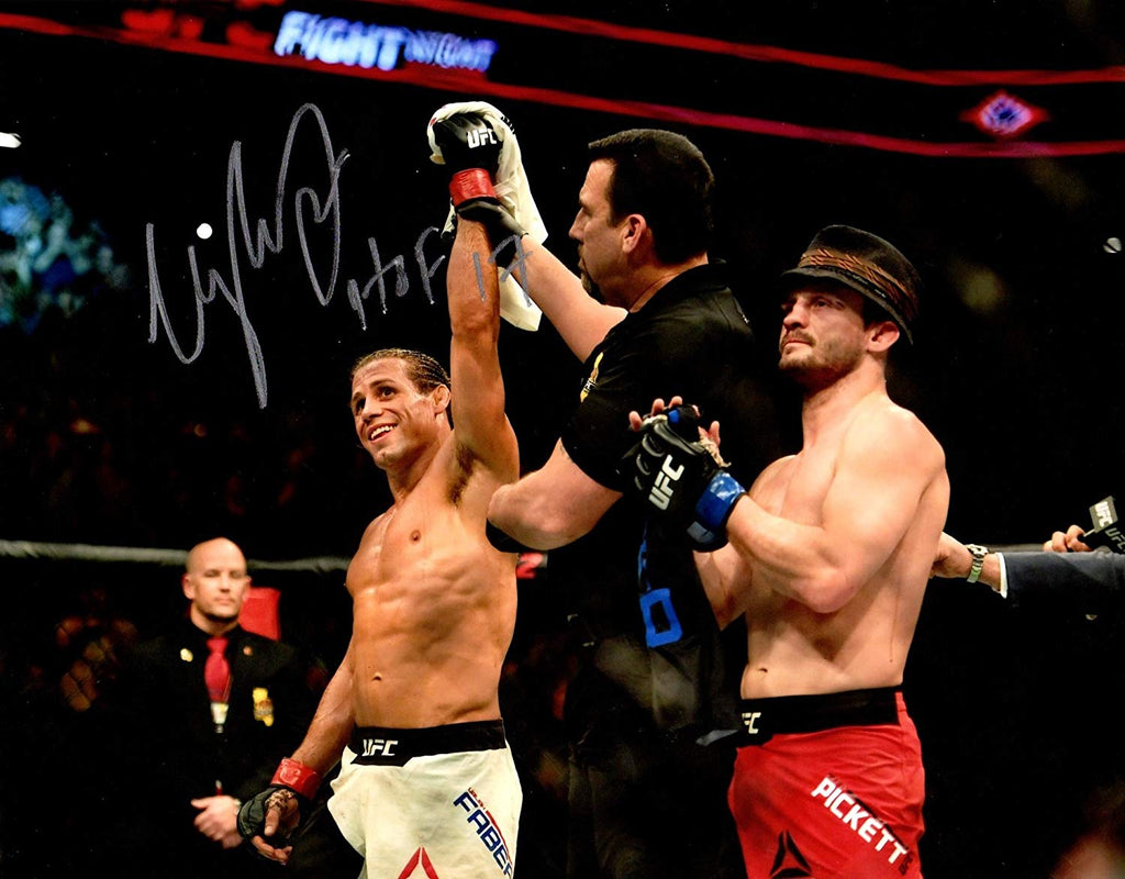Urijah Faber Autographed 8x10 photo UFC inscribed HOF 17 - JAG Sports Marketing