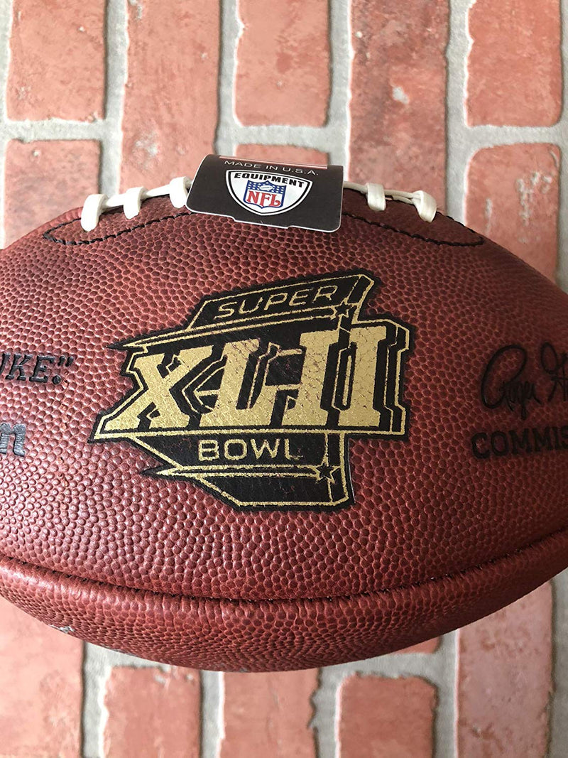 David Tyree autographed inscribed football New York Giants Hand Painted - JAG Sports Marketing