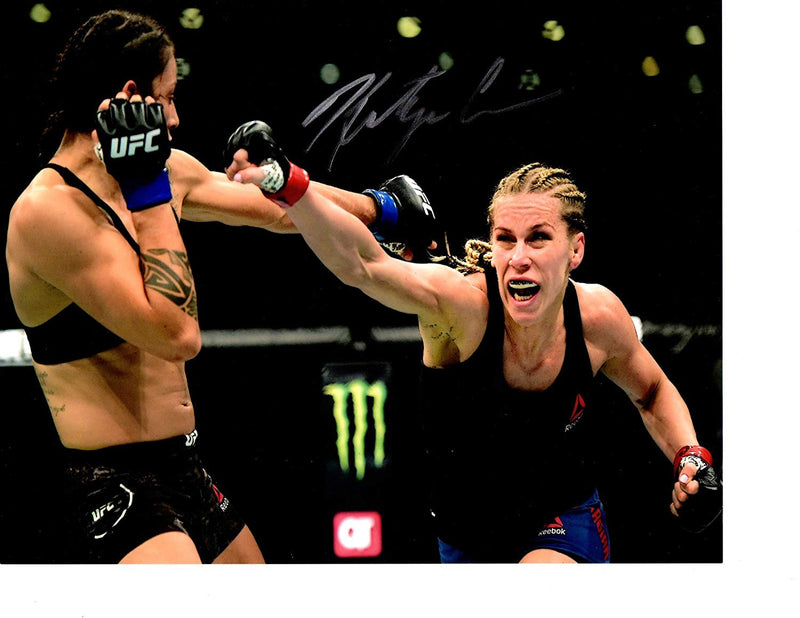Katlyn Chookagian Autographed UFC 8x10 photo w/COA - JAG Sports Marketing