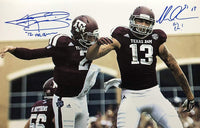 Johnny Manziel Mike Evans autographed 16x20 photo inscribed NCAA Texas A&M Aggies JSA - JAG Sports Marketing