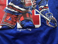 Mark Messier autographed jersey New York Rangers Steiner Hand Painted - JAG Sports Marketing