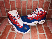 Allen Iverson autographed Retirement Rare Sneakers 76er's JSA w/ COA - JAG Sports Marketing