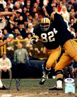 Lionel Aldridge autographed signed 8x10 photo NFL Green Bay Packers PSA COA - JAG Sports Marketing