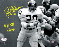 Rocky Bleier autographed signed inscribed 8x10 photo Pittsburgh Steelers PSA COA - JAG Sports Marketing