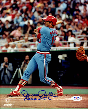 Darrell Porter autographed signed inscribed 8x10 photo St. Louis Cardnials PSA - JAG Sports Marketing