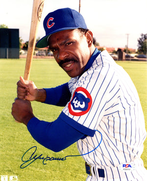 Andre Dawson autographed signed 8x10 photo MLB Chicago Cubs PSA COA - JAG Sports Marketing