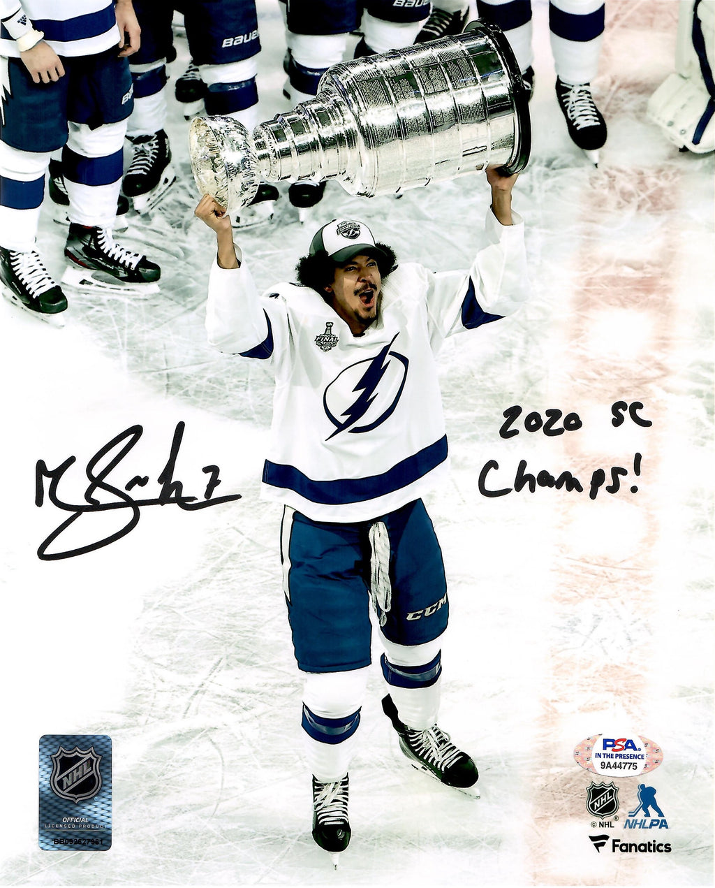 Mathieu Joseph autographed signed inscribed 8x10 photo Tampa Bay Lightning PSA - JAG Sports Marketing