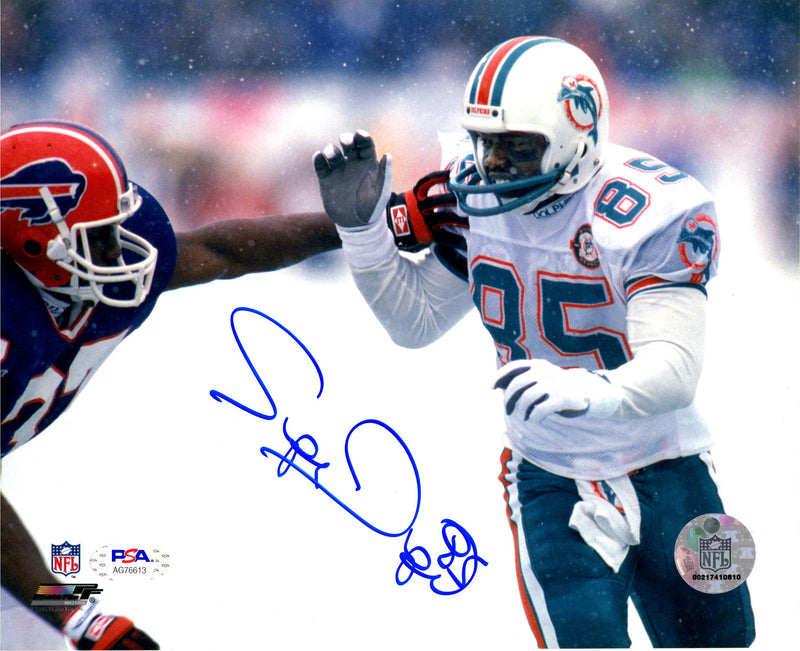 Mark Duper autographed signed 8x10 photo NFL Miami Dolphins PSA COA - JAG Sports Marketing