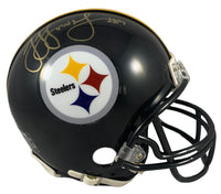 Juju Smith Schuster autographed signed Mini Helmet Pittsburgh Steelers PSA COA