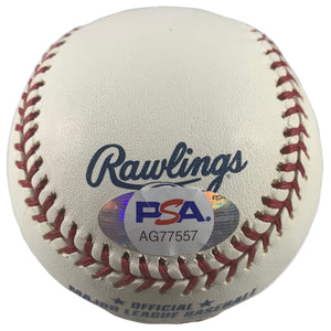 Lew Burdette autographed signed inscribed baseball Boston / Milwaukee Braves PSA - JAG Sports Marketing