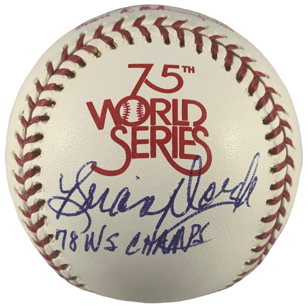 Brian Doyle autographed signed inscribed WS baseball MLB New York Yankees PSA