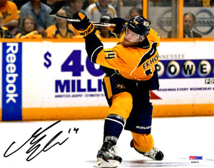 Mattias Ekholm autographed signed 8x10 photo NHL Nashville Predators PSA COA - JAG Sports Marketing