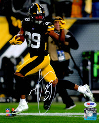 Minkah Fitzpatrick autographed signed 8x10 photo Pittsburgh Steelers PSA Witness - JAG Sports Marketing