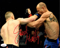 Justin Gaethje autographed signed 8x10 photo UFC The Highlight JSA COA Ferguson - JAG Sports Marketing