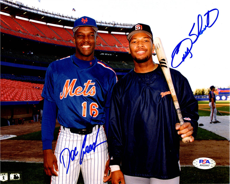 Doc Gooden & Gary Sheffield autographed signed 8x10 photo MLB New York Mets PSA - JAG Sports Marketing
