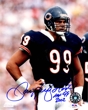 Dan Hampton autographed signed inscribed 8x10 photo NFL Chicago Bears PSA COA - JAG Sports Marketing
