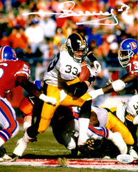 Merrill Hoge autographed signed 8x10 photo NFL Pittsburgh Steelers JSA COA - JAG Sports Marketing