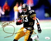 Merrill Hoge autographed signed inscribed 8x10 photo Pittsburgh Steelers JSA COA - JAG Sports Marketing