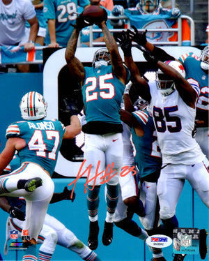 Xavien Howard autographed signed 8x10 NFL Miami Dolphins PSA COA Baylor - JAG Sports Marketing