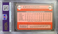 Gary Carter auto signed card Topps #660 1981 Montreal Expos PSA Encapsulated - JAG Sports Marketing