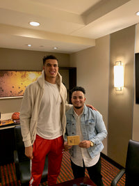 Michael Porter Jr. autographed signed floorboard NBA Denver Nuggets PSA COA - JAG Sports Marketing