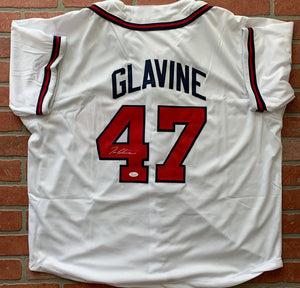 Tom Glavine autographed jersey MLB Atlanta Braves JSA COA CY Young WS MVP - JAG Sports Marketing
