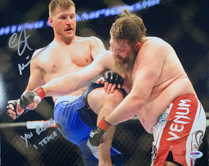 Stipe Miocic autographed signed inscribed photo 11x14 UFC PSA DNA Cormier Jones - JAG Sports Marketing