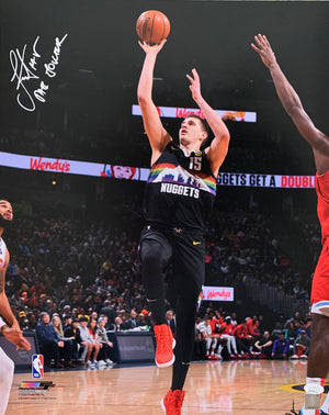 Nikola Jokic autographed signed inscribed 16x20 photo Denver Nuggets JSA COA - JAG Sports Marketing
