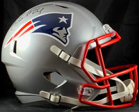 Stephon Gilmore autographed signed Full Size Speed Rep Helmet Patriots PSA COA - JAG Sports Marketing