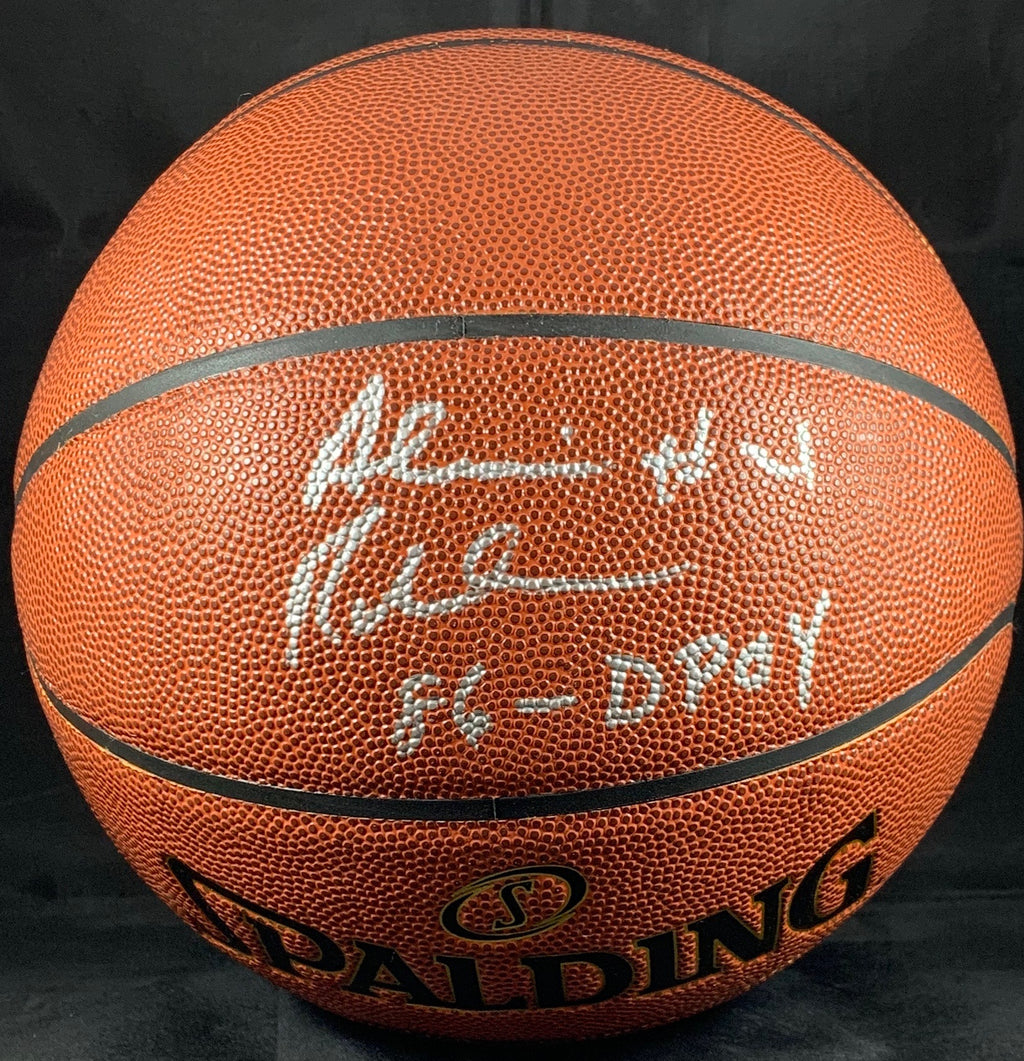 Alvin Robertson autographed signed inscribed basketball NBA San Antonio Spurs PSA COA - JAG Sports Marketing