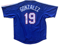 Juan Gonzalez autographed signed jersey MLB Texas Rangers PSA COA MVP - JAG Sports Marketing