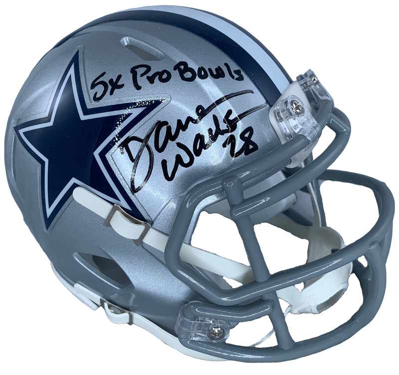 Darren Woodson autographed signed inscribed mini helmet Dallas Cowboys JSA COA - JAG Sports Marketing